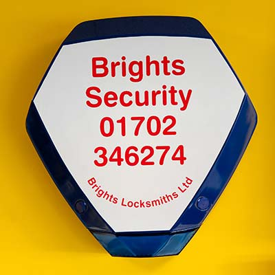 Wired Alarms: Brights Locksmiths installs, monitors and maintains wired alarm systems in business and commercial premises throughout Essex.